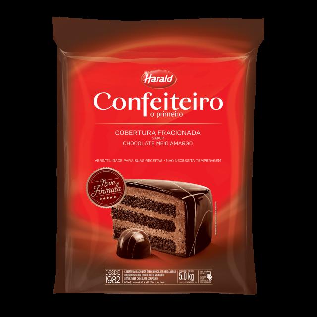Confeiteiro Meio Amargo Barra 5,000 kg