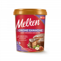 Creme Ganache sabor Chocolate com Avelã Melken Balde 1,000 kg