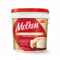 Creme Ganache sabor Chocolate Branco Melken Balde 4,000 kg