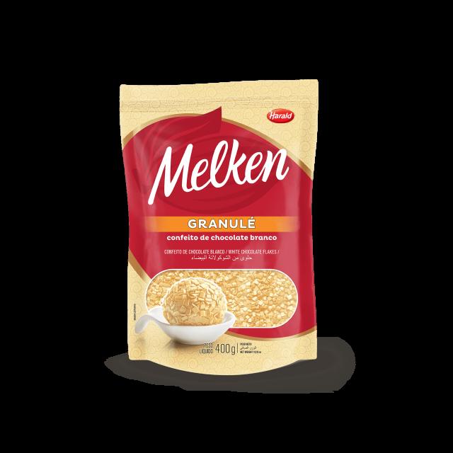 Granulé de Chocolate Branco Melken 400 g