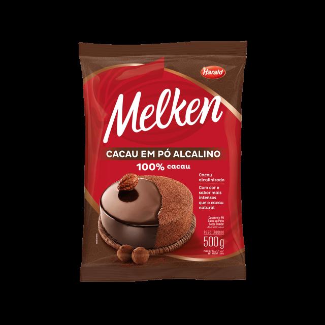 Cacau em Pó Alcalino 100% Melken 500 g