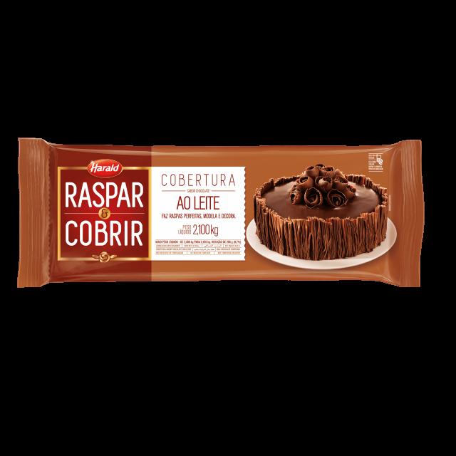 Raspar & Cobrir ao Leite Barra 2,100 kg