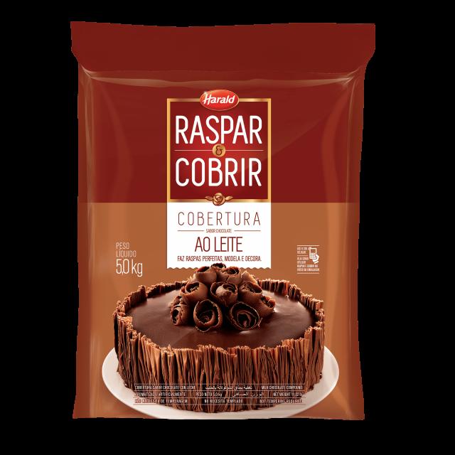 Raspar & Cobrir ao Leite Barra 5,000 kg