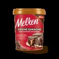 Creme Ganache sabor Chocolate Meio Amargo Melken Balde 1,000 kg