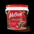 Creme Ganache sabor Chocolate Meio Amargo Melken Balde 4,000 kg