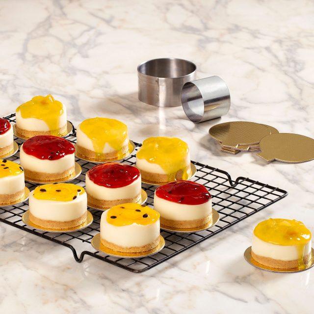 Mini Cheesecake Não-Assado