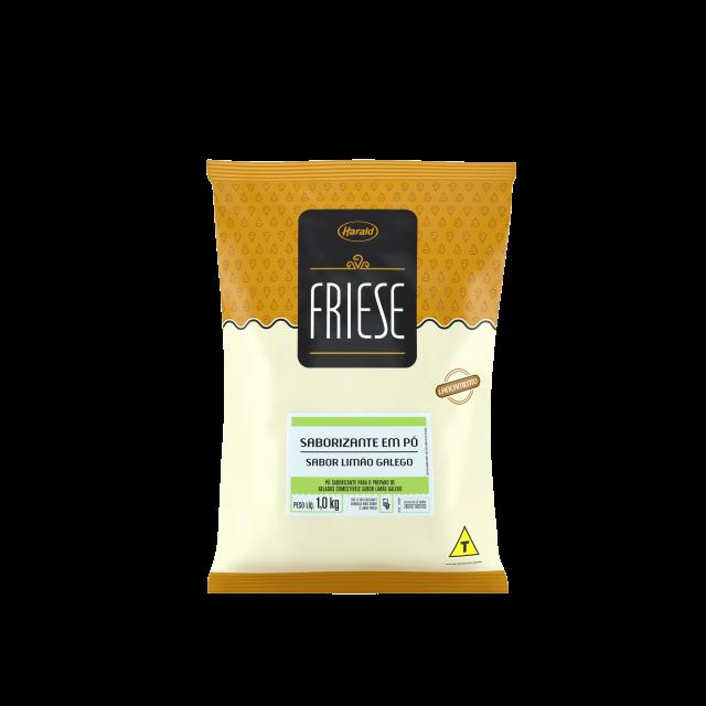 Saborizante em Pó sabor Limão Galego Friese 1,0 kg