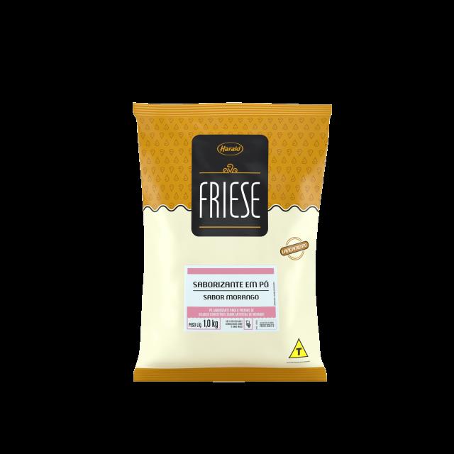 Saborizante em Pó sabor Morango Friese 1,0 kg
