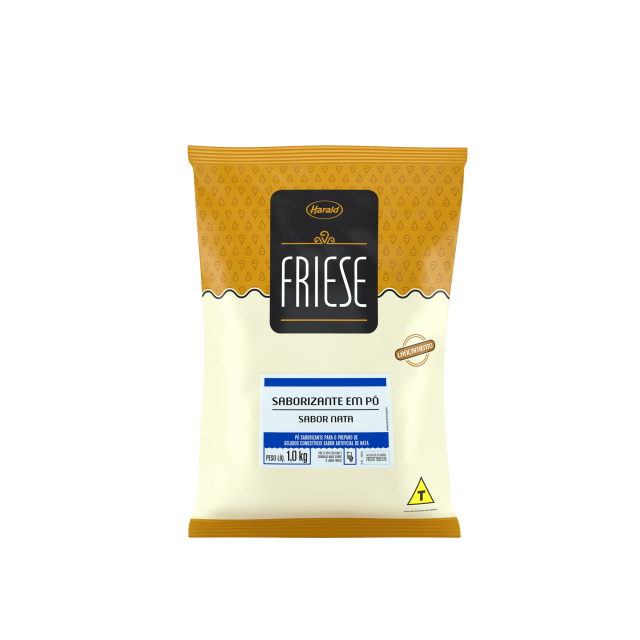 Saborizante em Pó sabor Nata Friese 1,0 kg