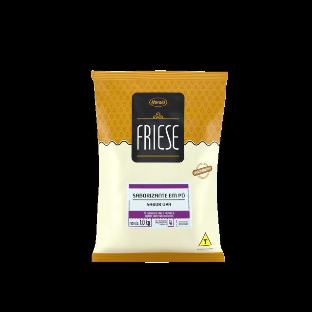 Saborizante em Pó sabor Uva Friese 1,0 kg