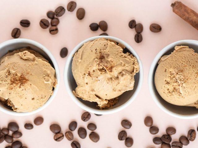 Delícias com sorvete